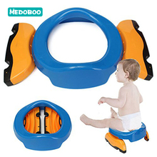 Medoboo Portable Baby Potty Toilet Toddler Training Seat Folding Kids Travel Car Potty Toilet Chair for Girls Boys Urinal Pot 20 portable emergency urinal toilet potty for baby child kids car travel camping and toddler pee pee training cup for boys girls