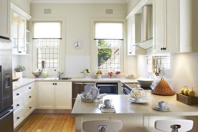 Muebles cocina color blanco en Gabinetes de cocina de Mejoras para ...