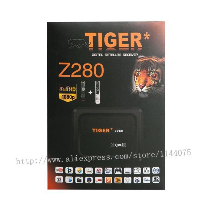 Digital HD Satellite Receiver Tiger Z280 & IP TV For Arabic
