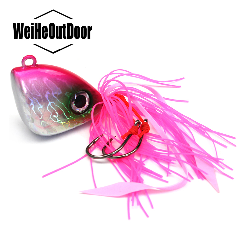 1Pc 150g Lead jigging Bait Ocean Fishing Triangular jig Head Mental Lure Artificial Tackle