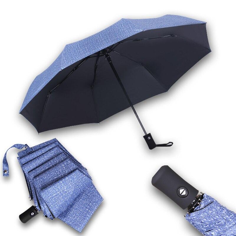 Novo estilo moda riginality Dobra guarda-chuva automático clássico Senhora  guarda-chuva à prova 1c6ac9e733