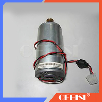 Free shipping Used Q1273-60071 SCAN AXIS MOTOR DesignJet 4000 4020 4500 4520 Z6100 Carriage Motor C1273-60071 plotter parts