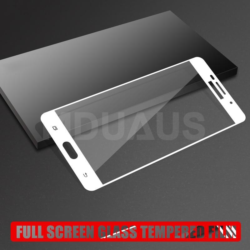 9D Tempered Glass For Samsung Galaxy J3 J5 J7 2016 2017 J2 J4 J6 J8 2018 Full Cover Screen Protector Protective Glass Film Case
