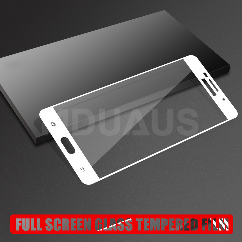 Image 4 - 9D Tempered Glass For Samsung Galaxy J3 J5 J7 2016 2017 J2 J4 J6 J8 2018 Full Cover Screen Protector Protective Glass Film Case-in Phone Screen Protectors from Cellphones & Telecommunications