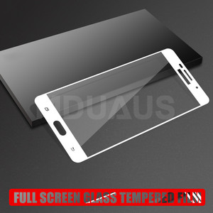Image 4 - 9D Tempered Glass For Samsung Galaxy J3 J5 J7 2016 2017 J2 J4 J6 J8 2018 Full Cover Screen Protector Protective Glass Film Case