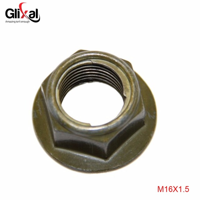 US $0 99  Glixal GY6 49cc 50cc 125cc 150cc Flanged Rear Wheel Axle Nut for  139QMB 152QMI 157QMJ Chinese Scooter Moped ATV Go Kart Engine-in Variomat &
