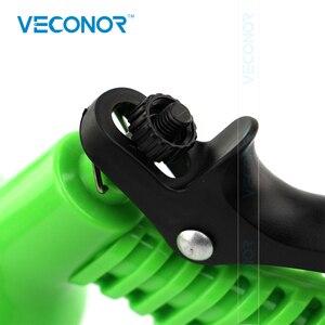 Image 4 - Tubulação de água mágica expansível, de 100ft 30m, com bico de pulverização, mangueira retrátil, diy, ferramenta de lavagem de carro