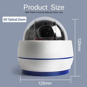 Image 5 - HD 1080P Draadloze PTZ IP Camera Wifi CCTV Speed Dome Camera Onvif 5X Optische Zoom Indoor Audio Sd kaart IR 20m P2P CamHi
