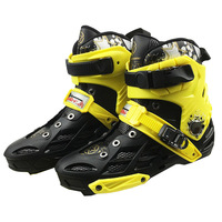 Upper Boot for Slalom / Speed Professional Adult Inline Skates Shoes PP Breathable Washable Inner Boots for Racing Patines F040