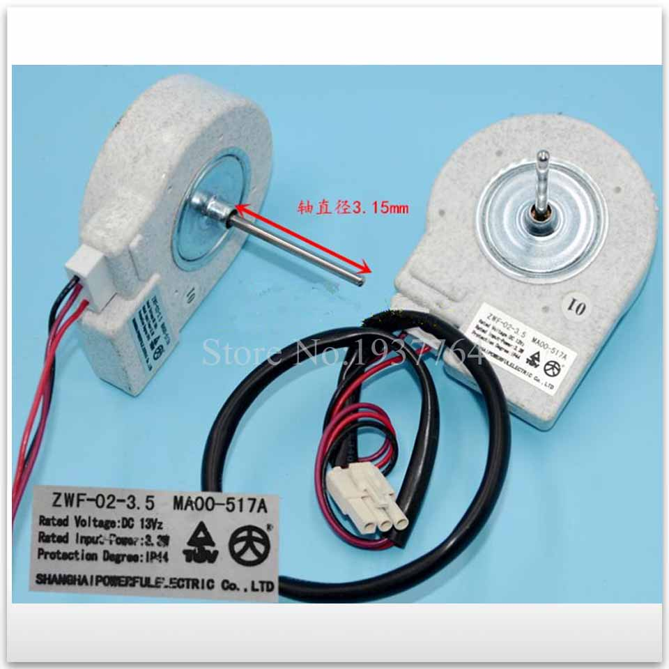 1pcs new refrigerator freezer Double open the door Fan motor for ZWF-02-3.5 digoo dg bb 13 mw 9 99ft 3 meter long micro usb durable charging power cable line for ip camera device page 7