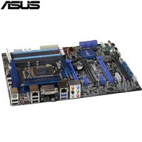 Original Used Server Motherboard For Asus P7F7 E WS SuperComputer Socket 1156 Maximum 6 DDR3 8GB