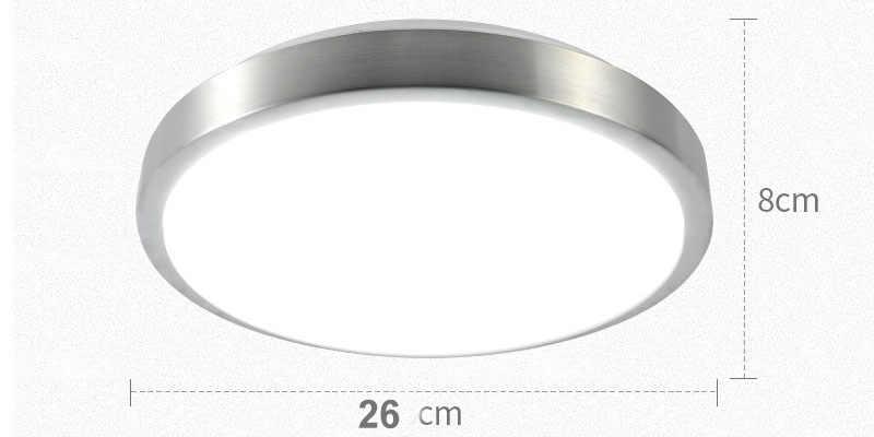 Motion Sensor Radar Human Induction Acrylic Led Ceiling Lights Fixtures Restaurant Bathroom Aisle Stairs Balcony Ceiling Lamps Aliexpress