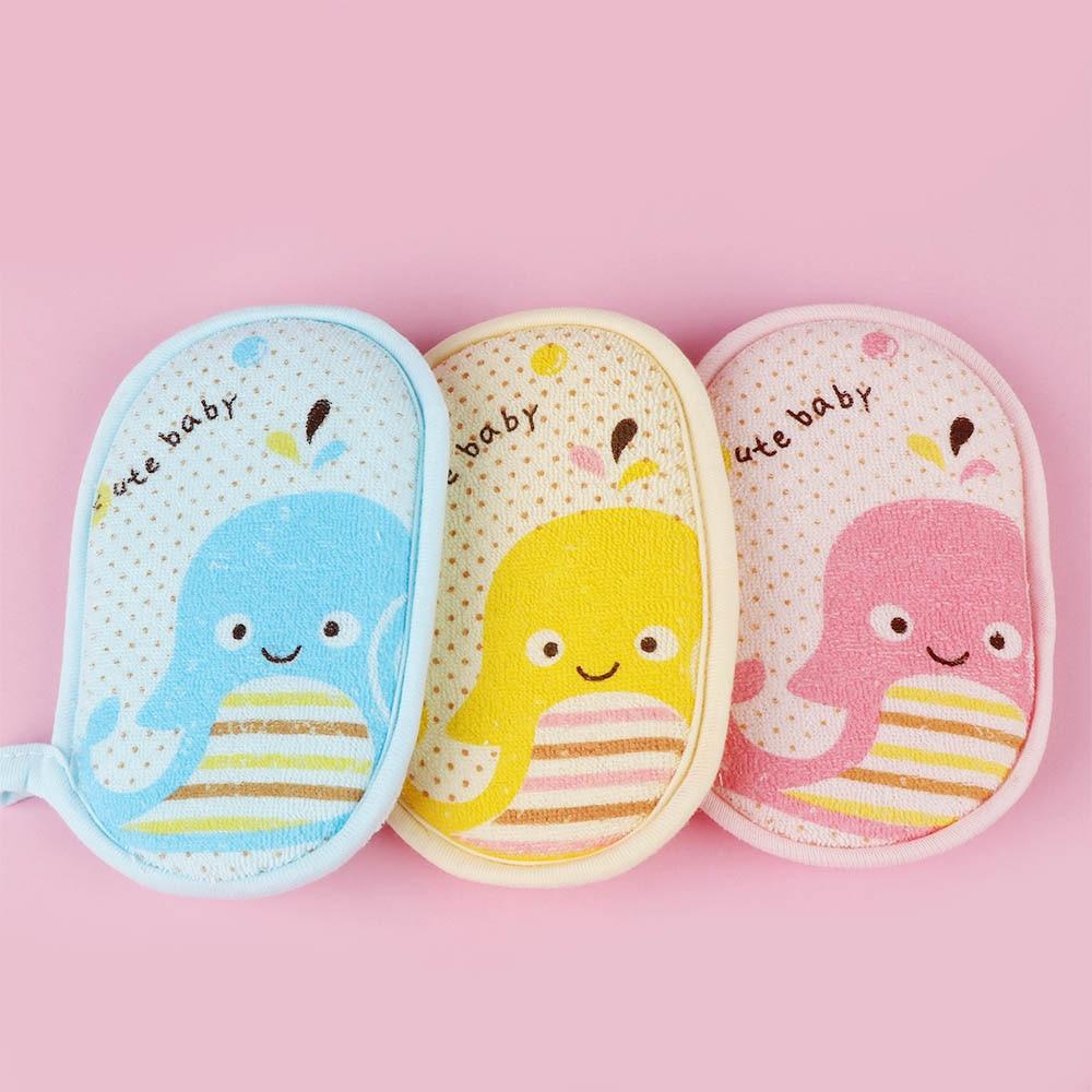 Kid Bath Sponge Infant Loofah Cute Baby Children Newbron Infant Shower Product Rub Towel Ball Soft Baby Bath Sponge Powder Puff