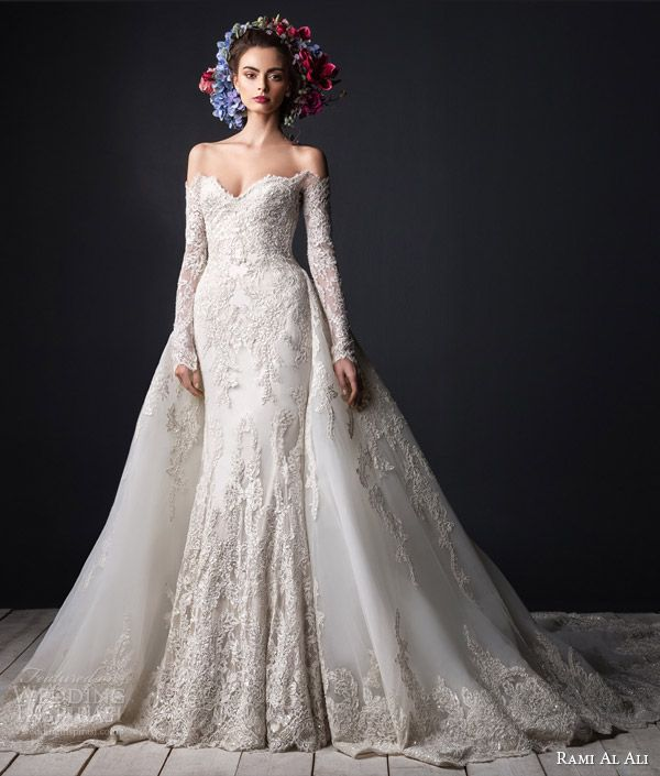 Wedding Dresses With Detachable Tail: Aliexpress.com : Buy 2016 Designer Luxury Wedding Gowns