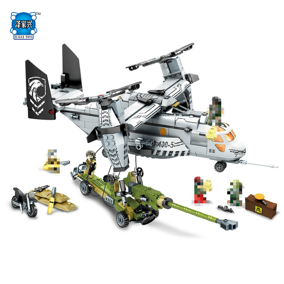 NEW Block 640pcs Helicopter Artillery Special Forces Military LEPINS Building Blocks Kits Army Soldiers Figures Bricks Toys fx2n 2da special function blocks new