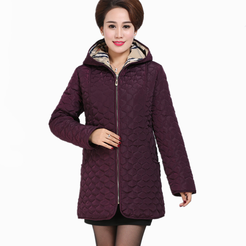 Women Parkas 2017 New Winter Ladies Padding Medium-Long Jacket Slim Warm Hooded Cotton Coat Female Outerwear Plus Size 6XL 2015 new hot winter thicken warm woman down jacket coat parkas outerwear hooded loose straight luxury brand long plus size xl