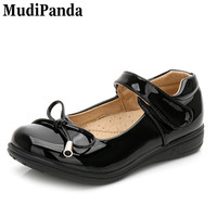 Mudipanda Children S Performance Shoes New Large Princess Student Shoes Primary School Leather Shoe Black Leather