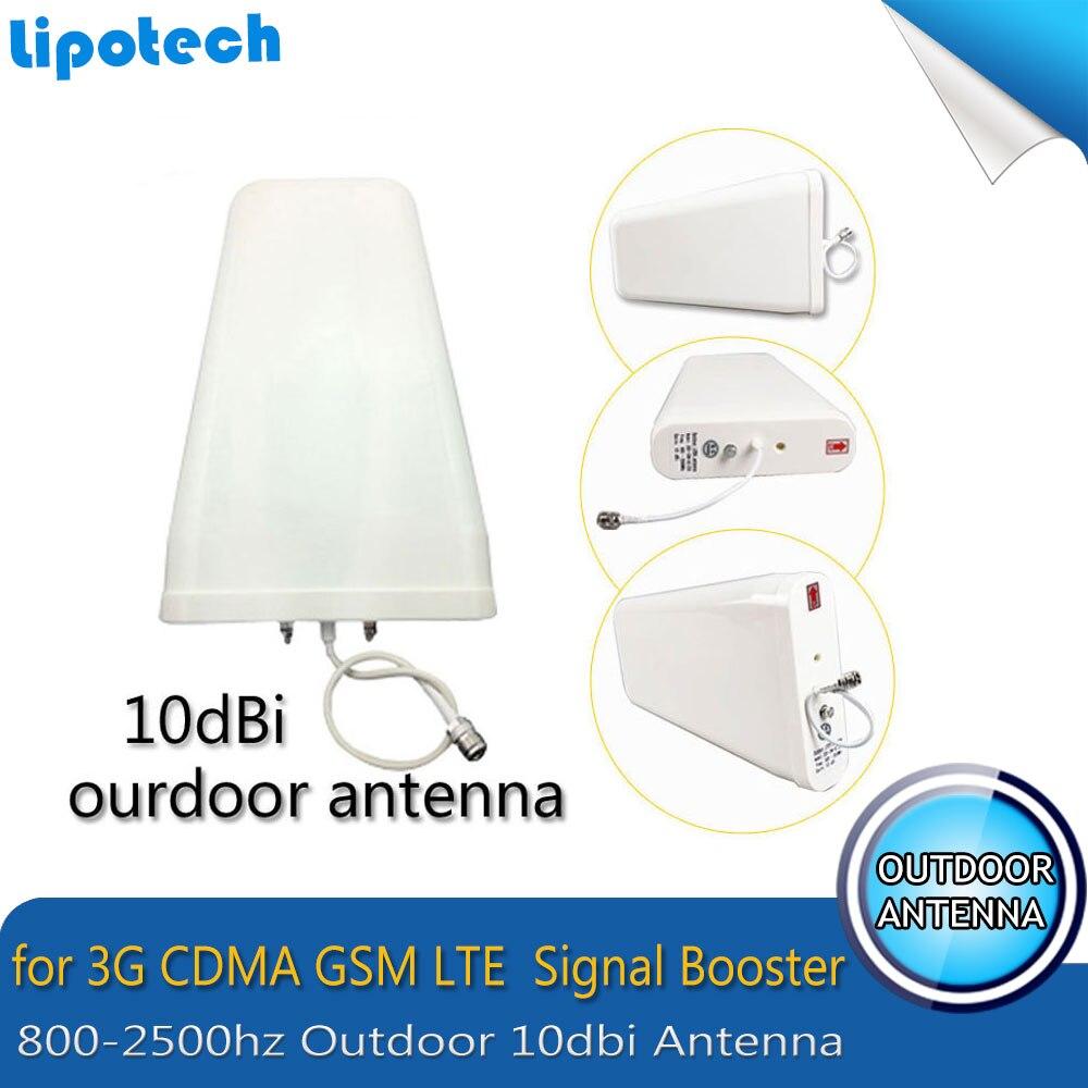 2017 Lintratek double LCD affiche GSM 900 4G LTE 1800 répéteur GSM 1800 mhz amplificateur de Signal Mobile 65dB double bande répétitrice celulaire - 5