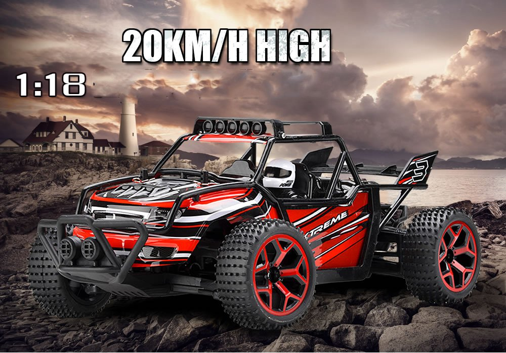 2 4G 20KM H font b RC b font car Remote Control font b Truck b