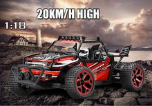 2.4G 20KM/H RC car Remote Control Truck Model Bigfoot Off-Road Vehicle Dirt Bike with 2 Batteries,Shock absorber Kids toy gift