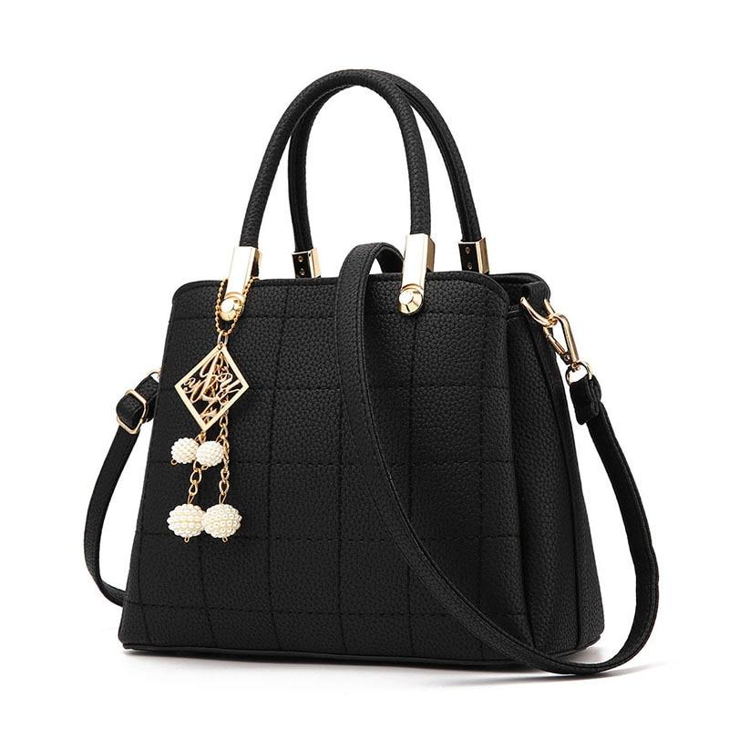 Luxury Famous Designer Brand Shoulder Bags 2017 Plaid Women Bag Women Leather Handbags Women Messenger Bag Ladies Tote Bag Canta