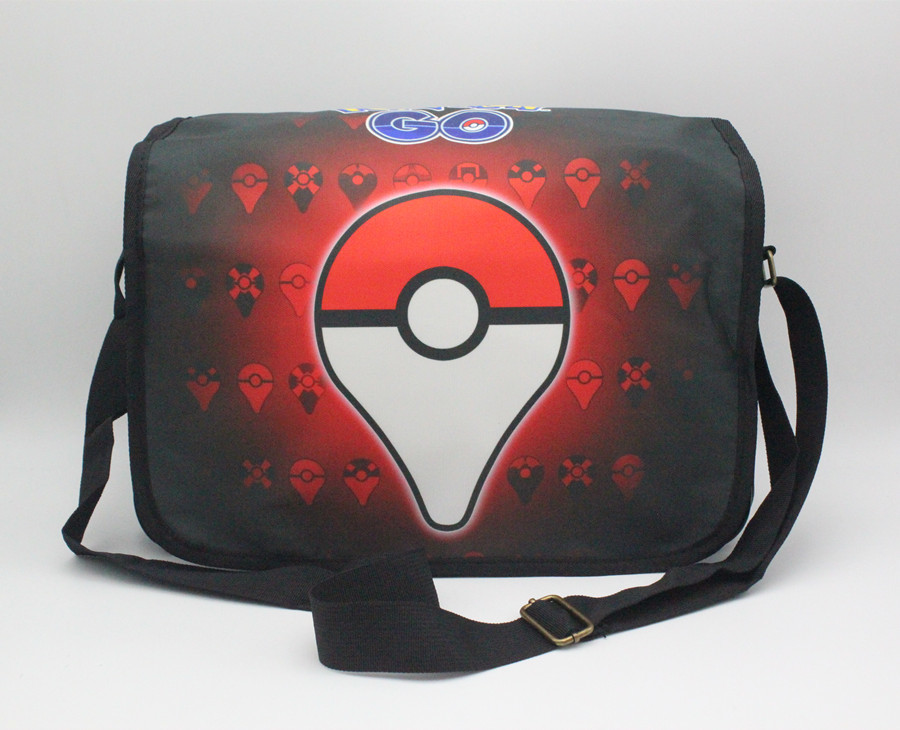 GAME Pokemon GO Poke ball Team Valor Moltres Shoulder Bag School Bag printed Messenger Bags Unisex Student Satchel 5 style