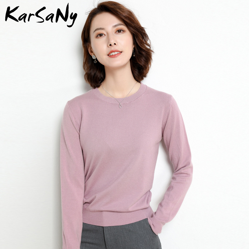 Yellow Cashmere Sweater For Women Sweaters Female Pink Wool Winter Woman Sweater Knitting Pullovers Knitted Sweaters Jumper 2020 24