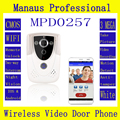 Professional Smarthome HD 720P Wifi Wireless Video Door Phone Doorbell  Intercom With GSM waterproof  IP55 function D257a