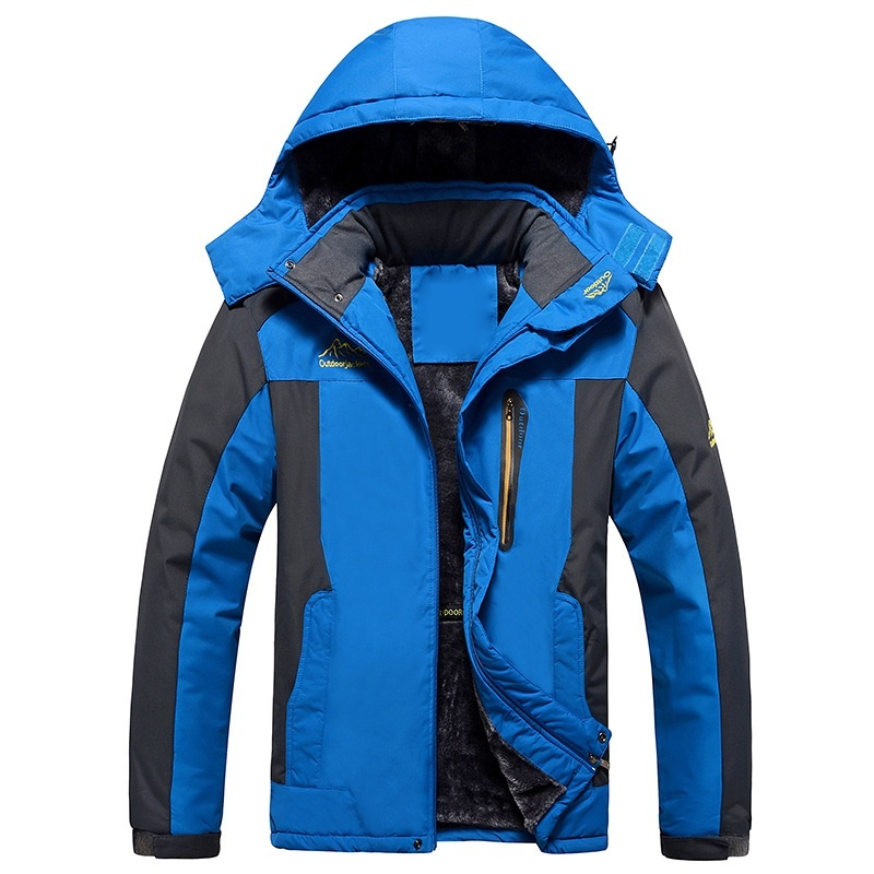 HTB1.O6Le2WG3KVjSZPcq6zkbXXaA LBL Winter Men Jackets Thick Mens Hiking Jacket Casual Outwear Warm Hooded Coat Man Windproof Overcoat Homme Outdoor Fashion Top
