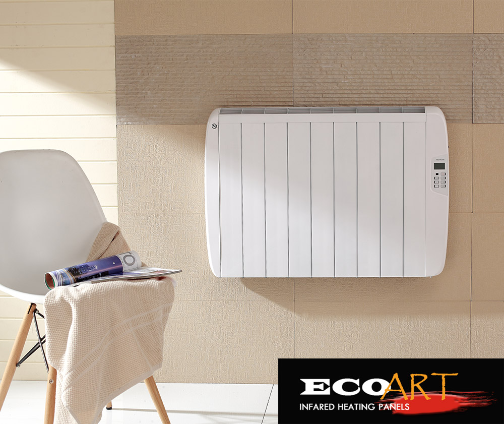 Eco Art Instant Heat Electric Convection Heater Thermostat ...