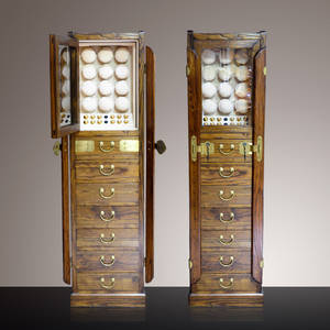 Display Case Watch Winder Cabinet 12-Watches Storage Collection Jewelry Wooden And Made By
