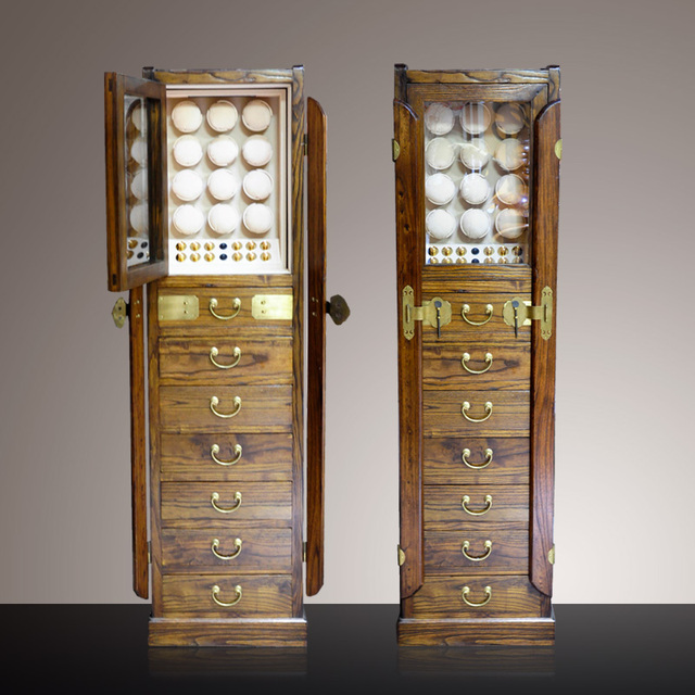 Wooden Watch Winder Cabinet 12 Watches Storage And Jewelry Display Case  Collection Made By Solid Wood