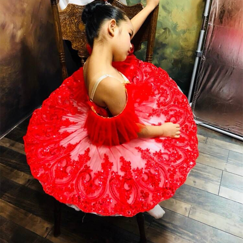 white red professional ballet tutu child kids girls ballet tutu adulto women ballerina party ballet mujer dance costumes-in Ballet from Novelty & Special Use