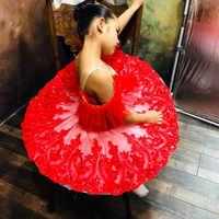 white red professional ballet tutu child kids girls ballet tutu adulto women ballerina party ballet mujer dance costumes