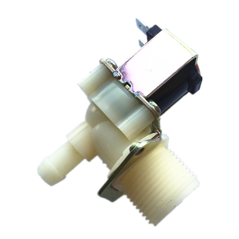 3/4-12mm 90 - degree Angle solenoid water valve 12Vdc washing machine inlet valve Ice machine solenoid valve air-condition universal washing machine inlet valve water filter parts single general washer water inlet valve replacement small appliance