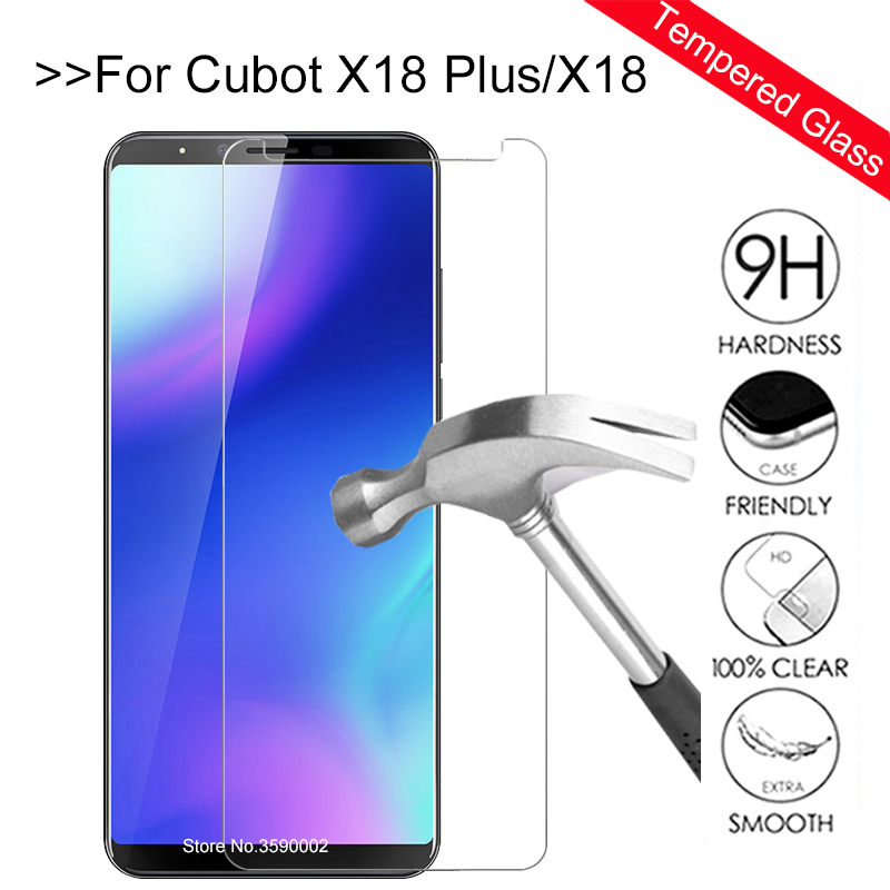 Tempered Glass For Cubot X18 Plus Screen Protector Protection Glass For Cubot X18 X 18 18X X18plus Protect Protective Glas Film