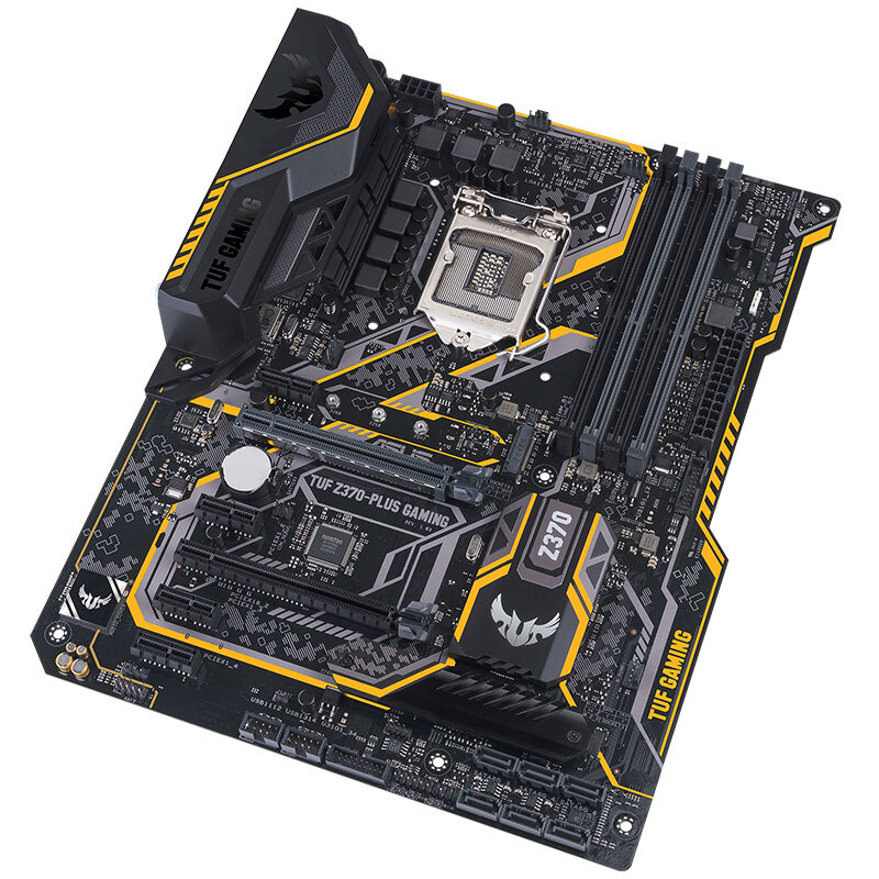 ASUS TUF Z370-PLUS GAMING game board supports i7 8700K