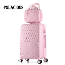20″24″12″inch High quality Trolley suitcase luggage traveller case box Pull Rod trunk rolling spinner wheels ABS+PC boarding bag