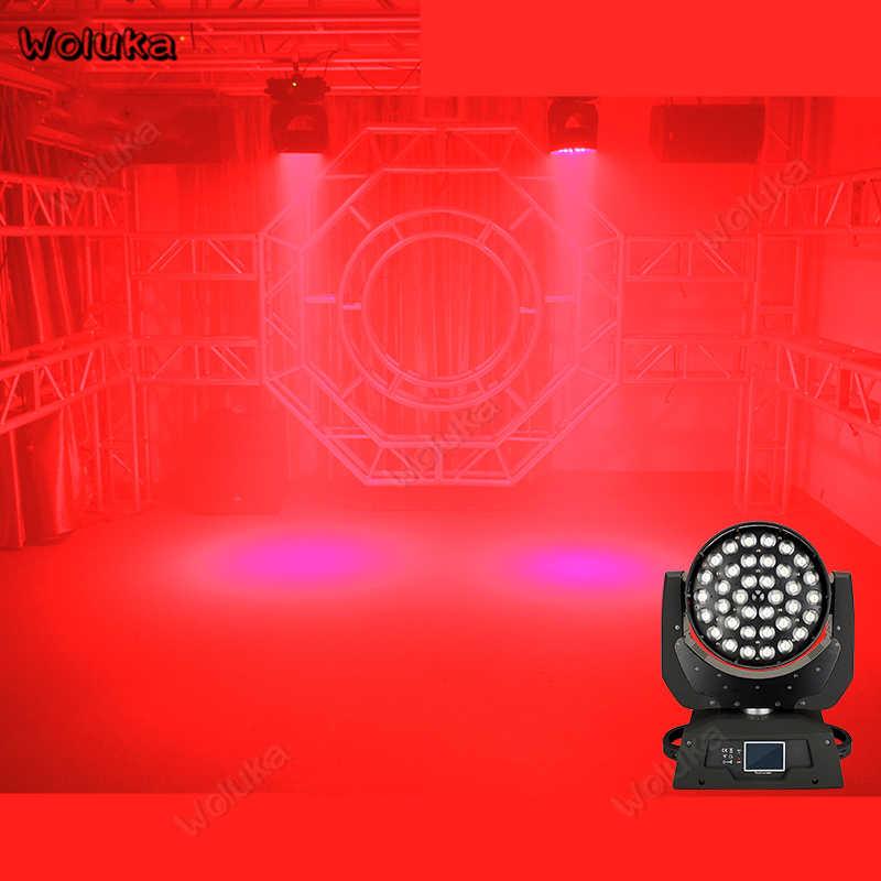 36 PCS mit schwerpunkt färben laser licht KTV flash Bühnen beleuchtung bar Party Disco DJ Zeigen LED Moving kopf Nacht Club lichter CD50 W01