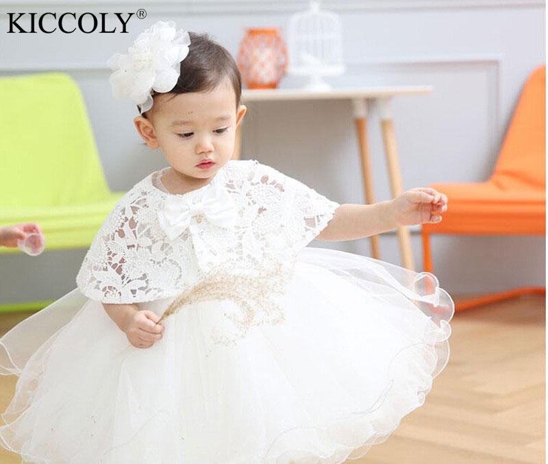 2016 Hot Sale Baby Birthday Party Kids Dress Baby Girl Christening ...