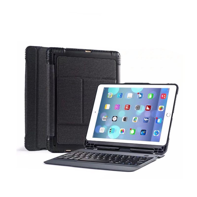 New 2018 2017 for iPad 9.7 Detachable Wireless Bluetooth Keyboard Case Cover for iPad 5 / 6 / Air / Air 2 / Pro 9.7