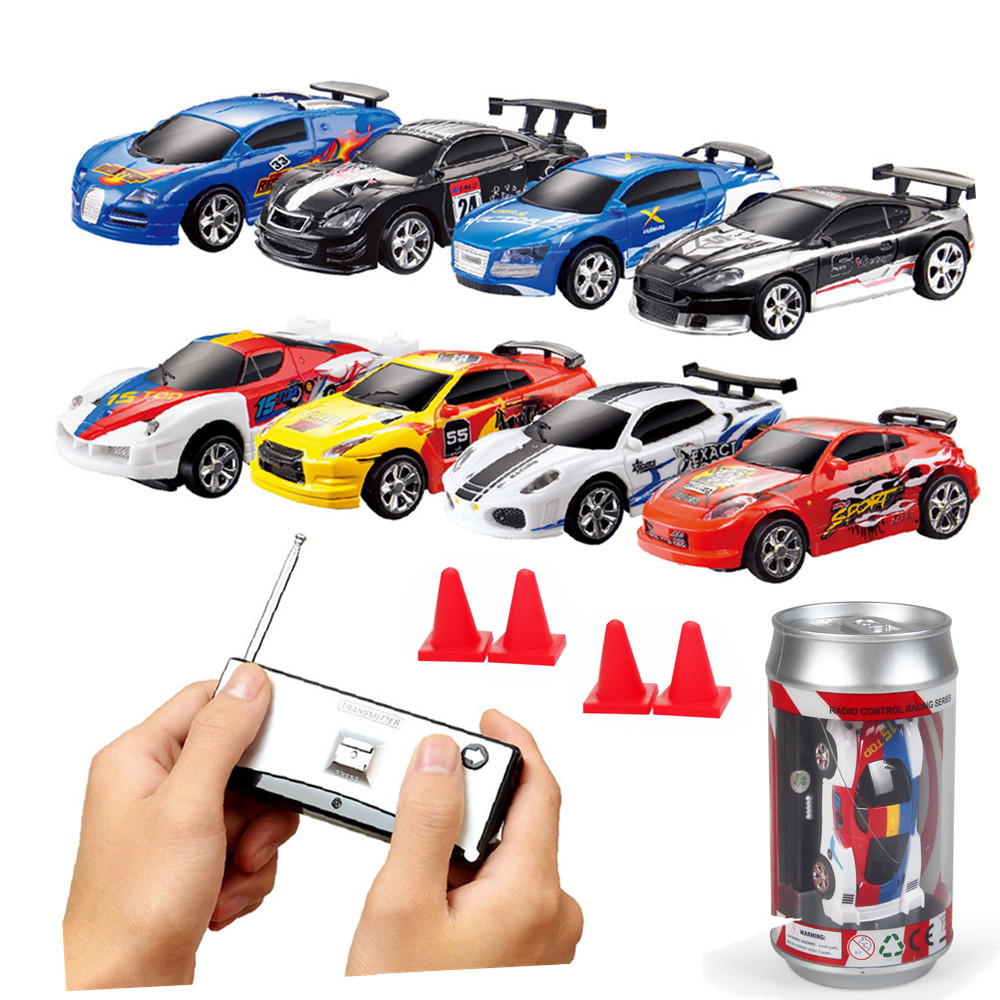 Toy Remote Control Cars For Boys : Meibeile new kids coke mini rc racing car remote control