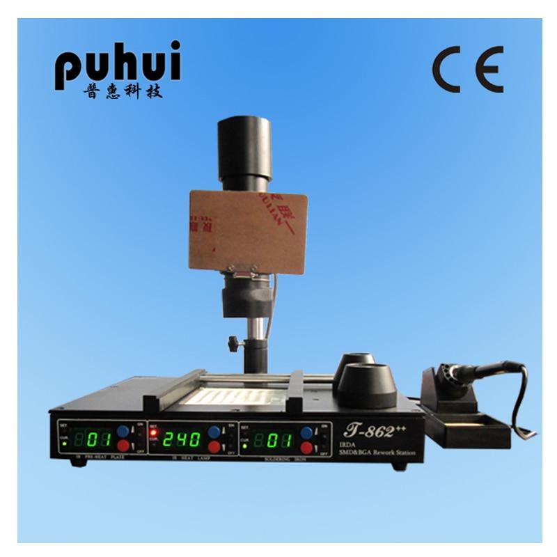 IRDA赤外線bgaリワークマシン、BGA SMD - 溶接機器 - 写真 3