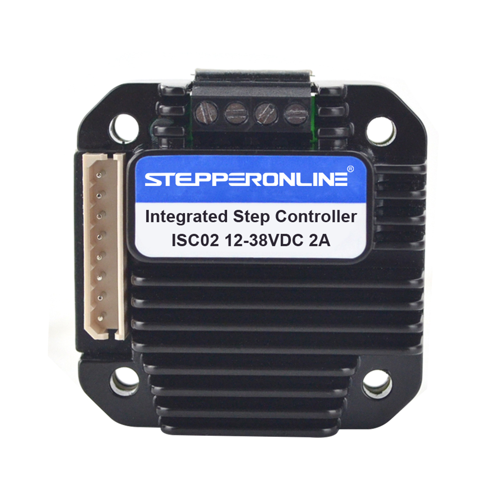 Integrated Stepper Motor Controller 0-2A 10-28VDC for Nema 8,11,14,17 Stepper MotorIntegrated Stepper Motor Controller 0-2A 10-28VDC for Nema 8,11,14,17 Stepper Motor