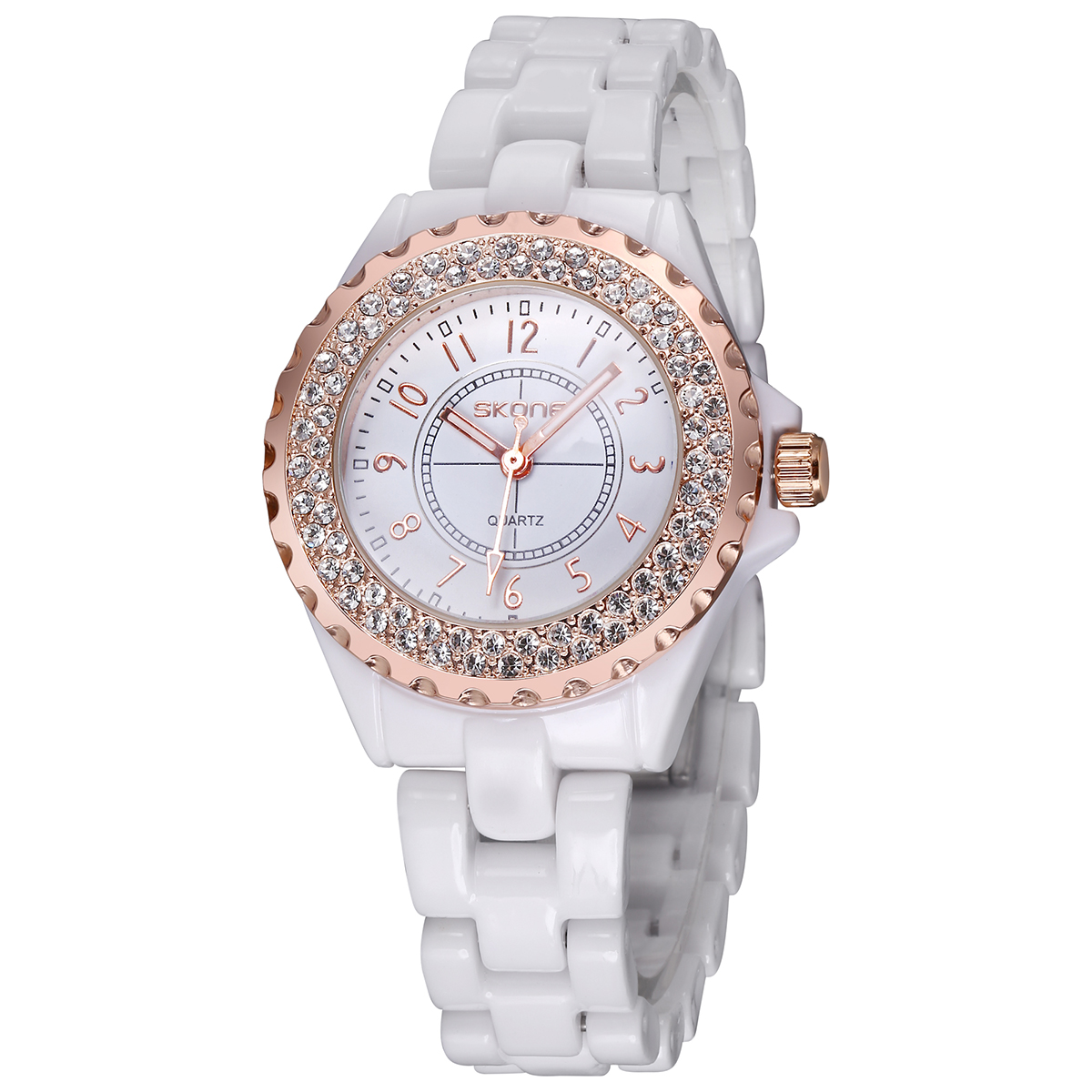 steel silver relogio vrouwen cole horloges watches strap taylor fashion lady item watch brand rhinestone stainless women dress white s from quartz in feminino