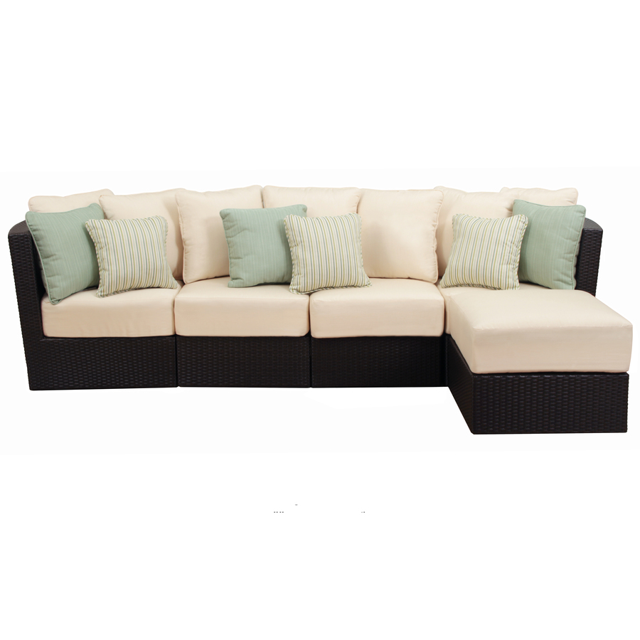 Curved Rattan Garden Sofa: 2016 All Weather Leisure Outdoor Classic Synthetic Rattan