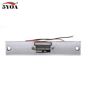 Image 5 - 電気ストライクドアロックアクセス制御システム新フェールセーフ 5YOA 真新しい StrikeL01