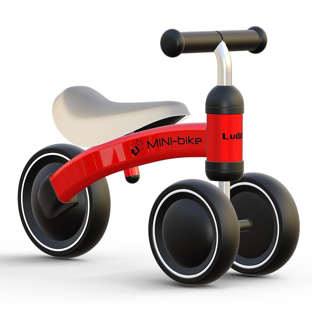 Bebé brillante bebé niños paseo en bicicleta 1-3 años bebé juguetes para el aprendizaje pie de bebé bicicleta Scooter de seguridad - 5