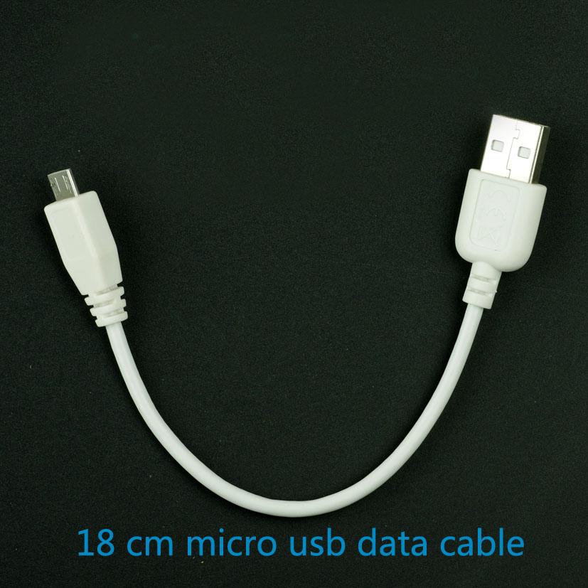 original micro USB data cable Andrews flat short-term white with a shield