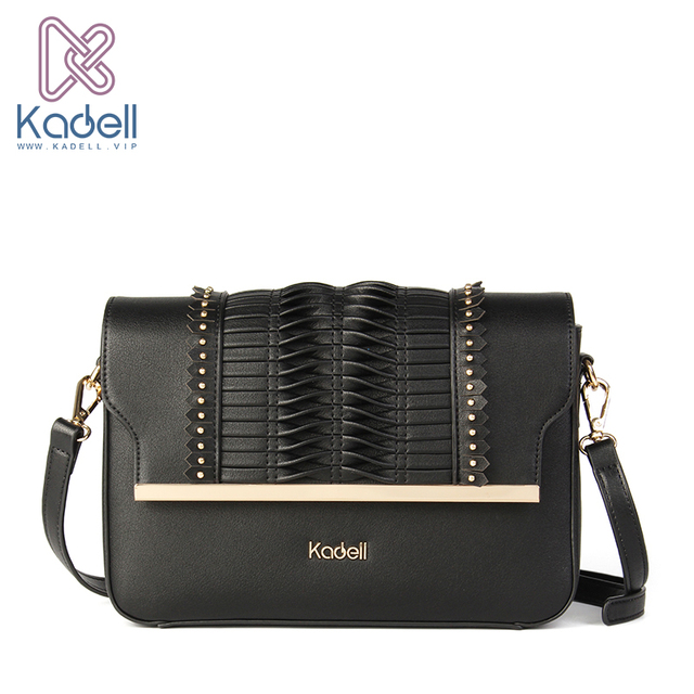 Kadell Новинка 2017 модные женские туфли Курьерские сумки через плечо Для женщин популярные высокое качество Повседневное макраме дамы Сумки